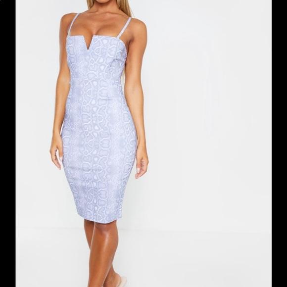 PrettyLittleThing Dresses & Skirts - PLT snakeskin dress